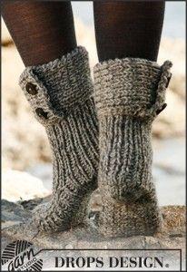 Breipatroon Sokken: Moon Socks (gratis breipatronen met uitleg) #breien #knitting #patterns