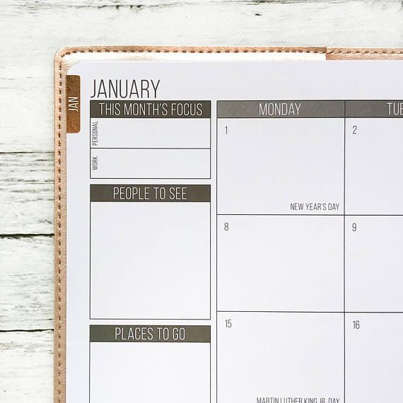 foiled flush monthly tabs passion planner stickers for the classic