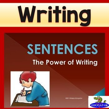 Writing Correct Sentences PowerPoint explains how to write complete sentences, focusing on how to identify subjects and predicates, sentence structure, and how to avoid sentence errors, fragments, and run-ons. Also includes practice questions.  Important to know for good writing.