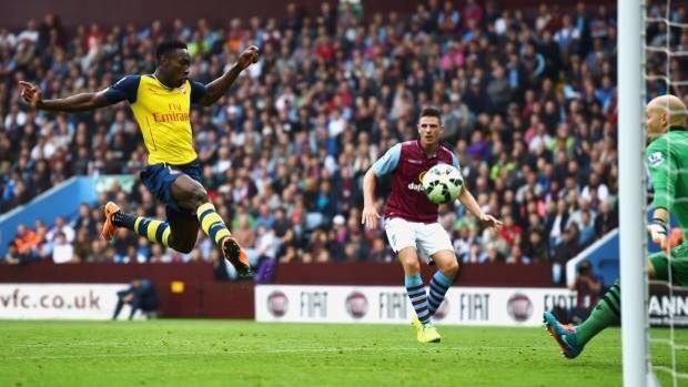 Aston Villa 0 Arsenal 3 - Danny
