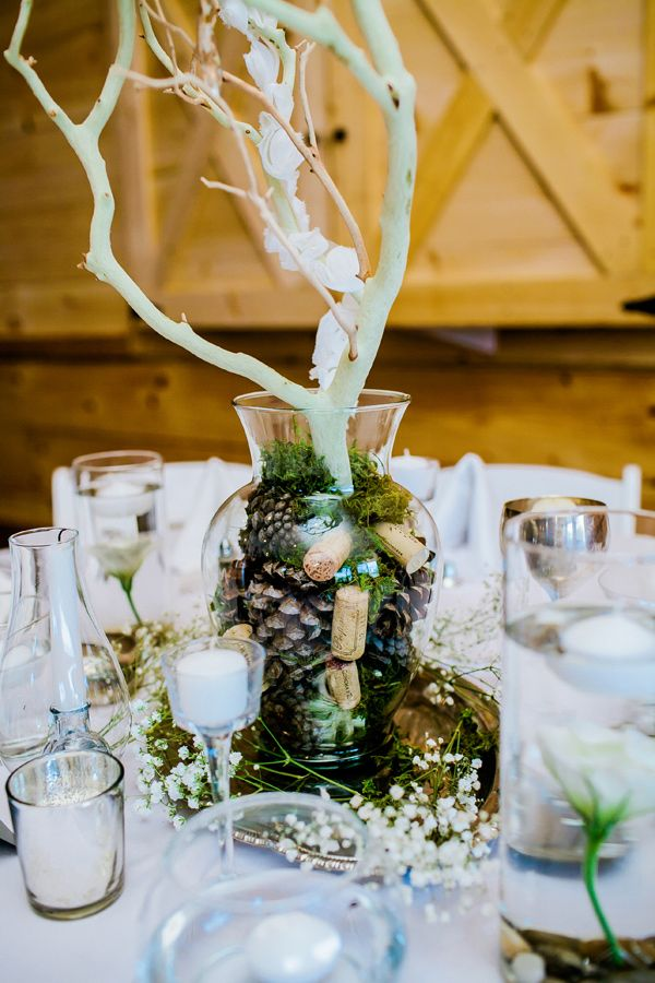 Ideas about white branch centerpiece on pinterest