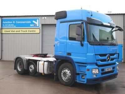 2010 MERCEDES-BENZ ACTROS 2448LS 6x2 Tractor Unit in Witton   Auto Trader Trucks