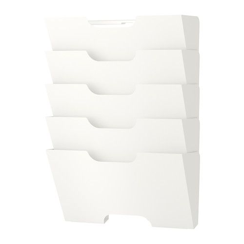 IKEA: Kvissle wall rack, $15  {totally need this for my file folders!}
