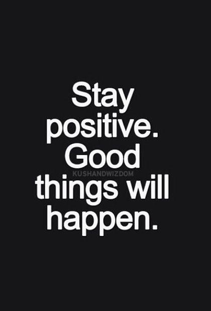 hoy mas que nunca stay positive