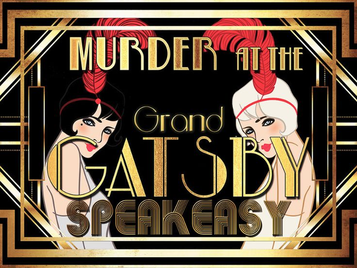 Dinner Party Game Ideas For Adults Part - 43: 1920s Murder Mystery Party. Adult Party IdeasAdult Party Games ...
