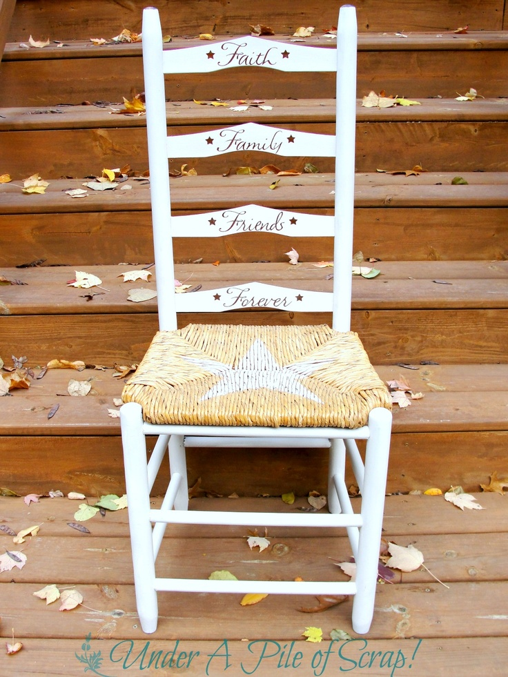 17 Best Images About Stenciled Chairs On Pinterest