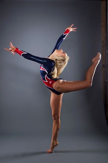 Gymnast Nastia Liukin for London 2012 Olympics!! Sadly, she didn't qualify.