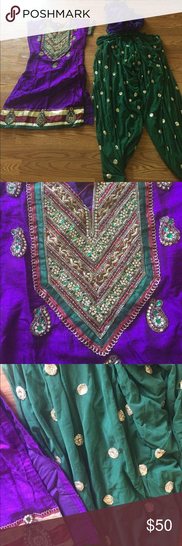 Salwar kameez patiala Indian suit szS Beautiful patiala szS Other