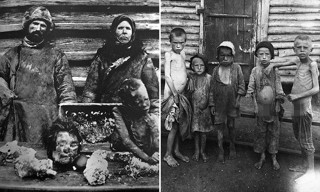 Distressing photos show Russian famine turned peasants into cannibals #DailyMail   These are some of the stories. See the rest @ http://www.twodaysnewstand.com/mail-onlinecom.html or Video's @ http://www.dailymail.co.uk/video/index.html And @ https://plus.google.com/collection/wz4UXB
