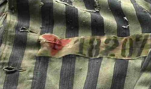 Pink triangle - symbol for homosexuals in the concentration camps