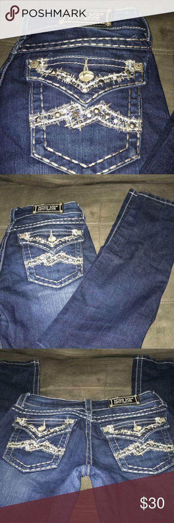 Miss me skinny jeans sz 28 Miss me skinny jeans sz 28 inseam is 31 Miss Me Jeans Skinny