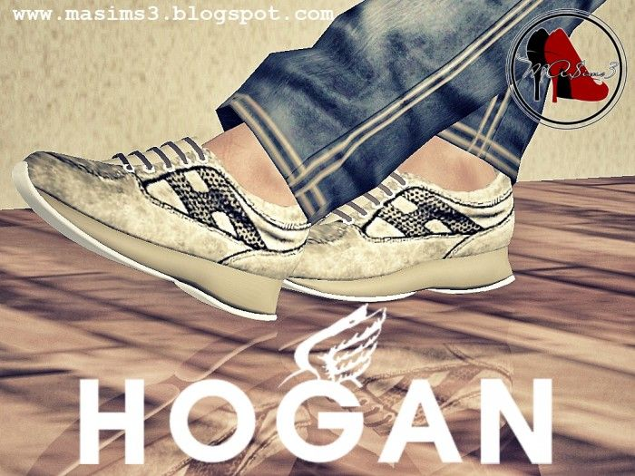 I personally love Hogan Sneakers, so I have decided that your sims should  also love them :D Female YA (the male model will be added later.