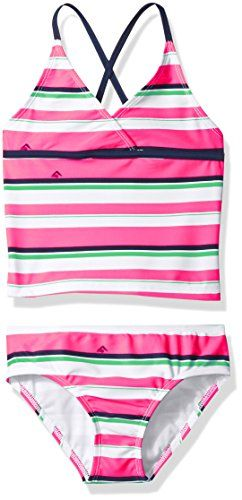 f56aa684b76 Girls' Bridget Stripe Tankini Swimsuit | Swimwear For Moms | Striped ...