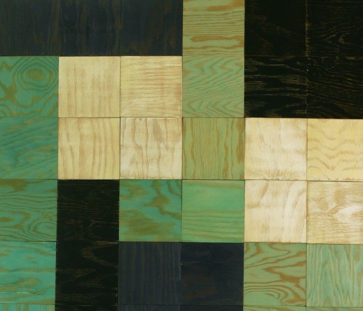Moonish Co plywood wall tiles   Remodelista