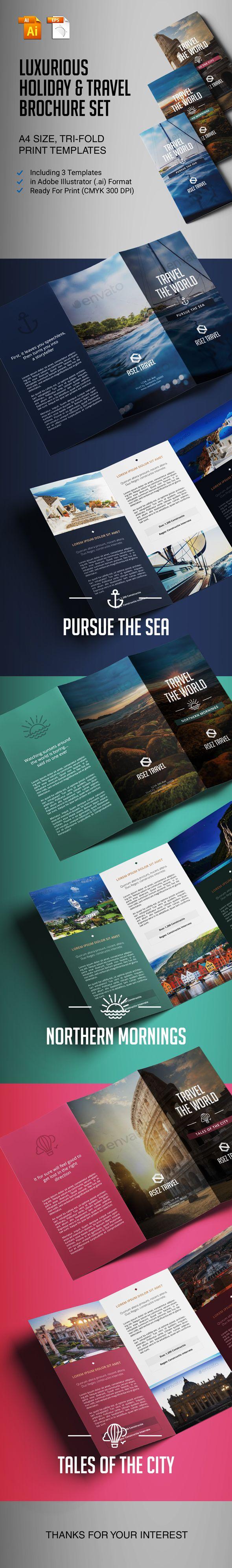Travel Brochure Set