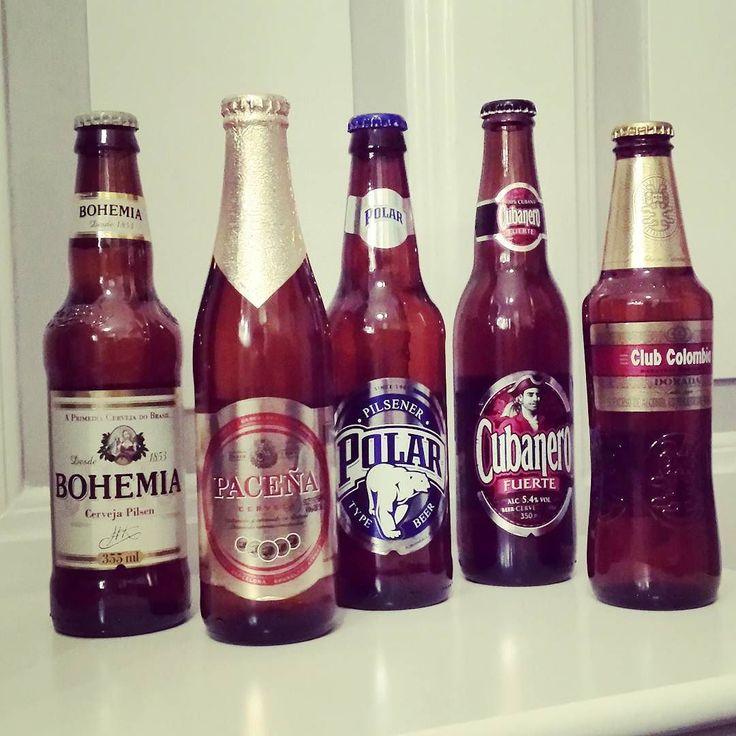 Südamerika-Selektion von Markant wird am Wochenende verprobt  #markant #kiel #bier #clubcolombia #kolumbien #cubanero #fuerte #kuba #pacena #bolivien #bohemia #brasilien #polar #venezuela #pils #wochenende