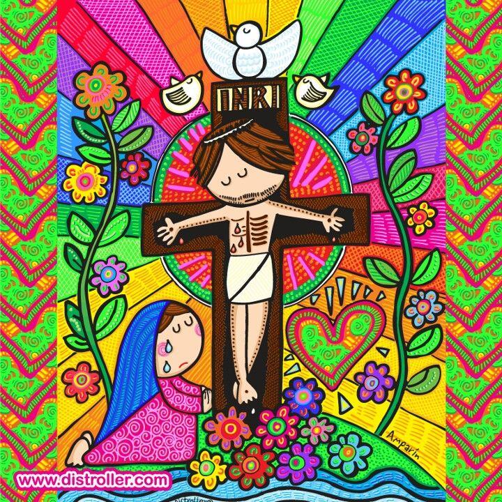 God and Virgem Mary