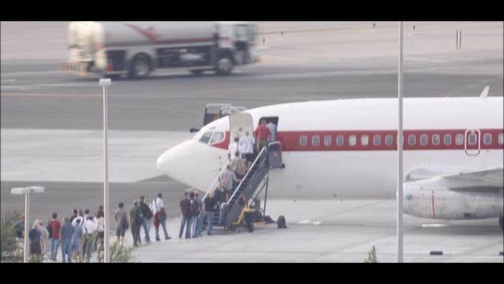 Mistério na Área 51: Jatos de passageiros estão pousando e decolando por...