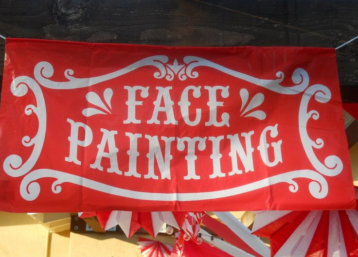 Face painting is always a crowd favorite! Ask about setting up a face painting booth at your next company picnic!