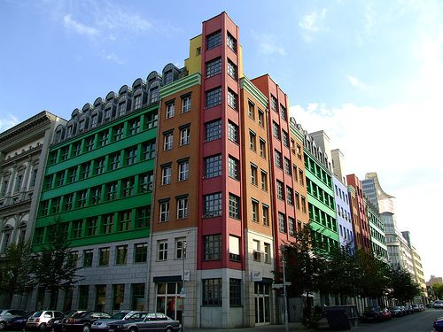 102 best images about apartment building color on pinterest for Carports berlin