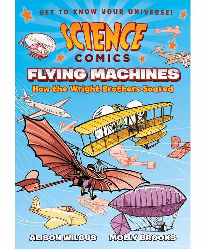 Flying Machine Science Comic #museumofflight
