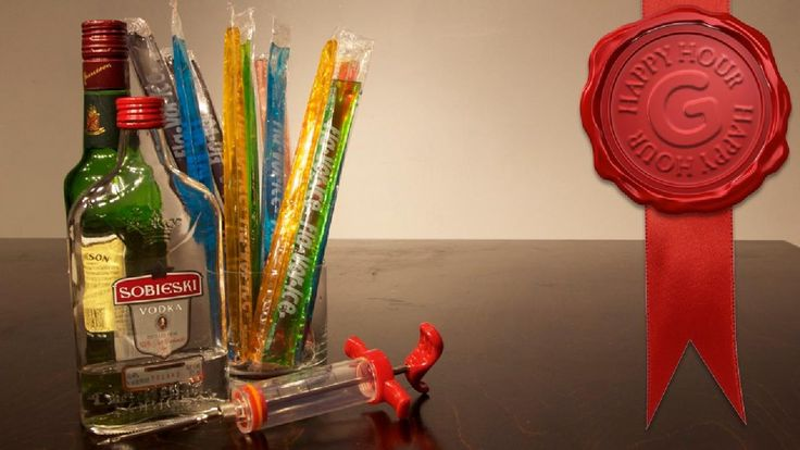 The Drunken Boy Scout: The Stealthy and Refreshing Way to Get Tanked  otter pops+vodka+ syringe=summer funtimes.