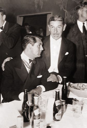 Grant & Michael Romanoff at Romanoff's 1940s
