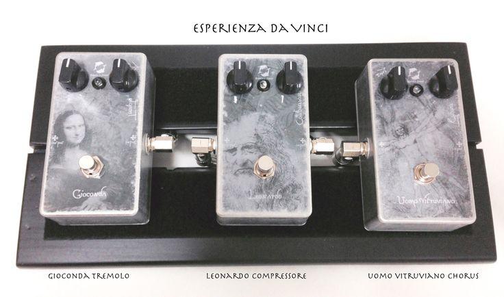 """Dopo l'anteprima avvenuta al Second Hand Guitars..... Dolphin's Sound si prepara a presentarvi la nuova trilogia """"Esperienza Da Vinci"""": Gioconda Tremolo, Leonardo Compressore, Uomo Vitruviano Chorus... ...restate connessi ... presto on line!  After the preview at Second Hand Guitars -Milano-..... Dolphin 's Sound prepares to introduce a new trilogy """" Experience Da Vinci """" : Mona Lisa Tremolo , Leonardo Compressor ,Vitruvian Man Chorus ... stay connected ... on line soon !"""
