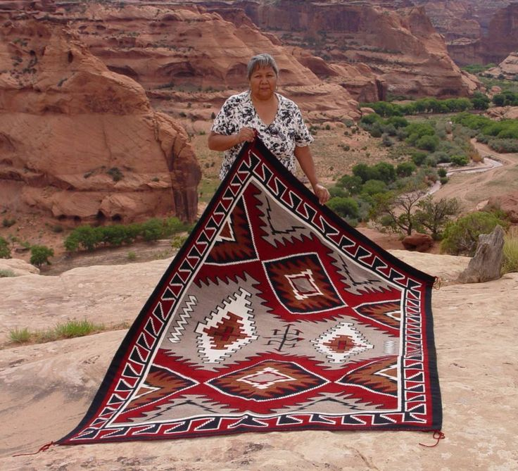 The Weaving Of Navajo Indian Rugs Is Deeply Rooted In The Culture And  Traditional Beliefs Of