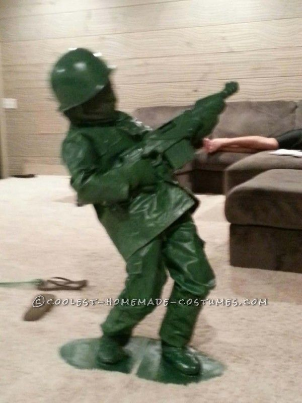 The 25 best toy story soldiers ideas on pinterest army party coolest toy soldier diy costume for a child solutioingenieria Gallery