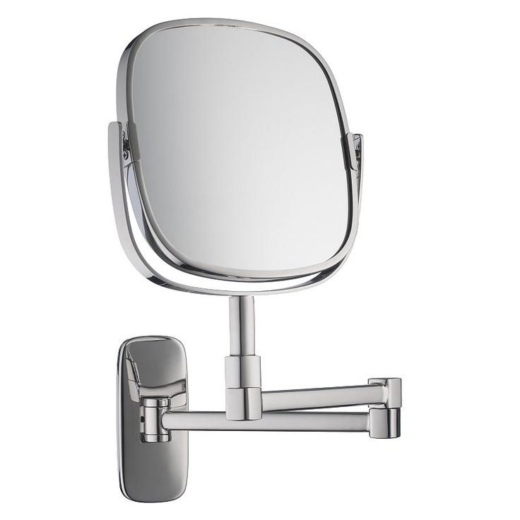 Robert Welch Bathroom Burford Extendable Magnifying Wall Mirror £150