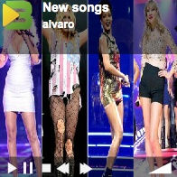 Listen to these girls NEW SONGS by Rihanna, Kesha, Christina Aguilera, Taylor Swift and Mariah Carey.