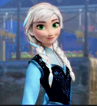One woman plays nine characters from frozen