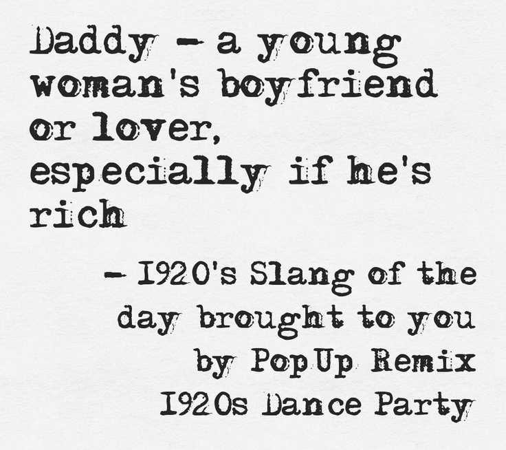 1920s lingo