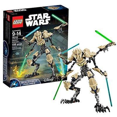 Lego Star Wars 75112 Général Grievous Age : 9 ans ,  Nombre de pièces : 186 ,  Dimension : 22,2 x 26,2 x 6,2  moins cher en ligne chez Kelkoo, Amazon, Priceminister, Shopping, Ebay. Comparez le prix de Lego Star Wars 75112 chez 5 vendeurs en ligne
