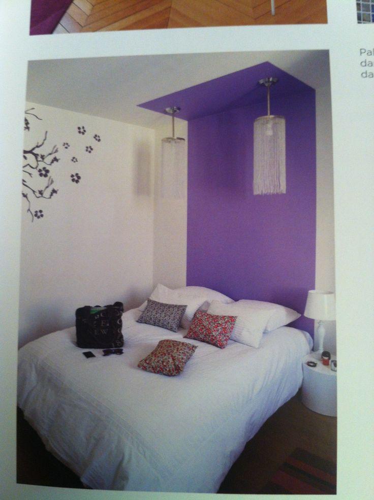 Tete de lit peinte d co design pinterest - Tete cherry bed ...