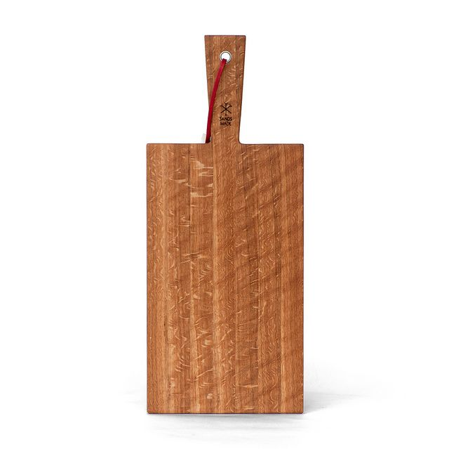 Cheese Paddle No.1 - White Oak - The Cheese Paddle No.1 is the smallest of our Cheese Paddle range. Measuring 400mm in length, it's a handy platter for making and eating toast on in the morning or serving snacks to friends. White Oak is an excellent cutting surfaces, which also makes this board handy for small cutting jobs at dinner time.
