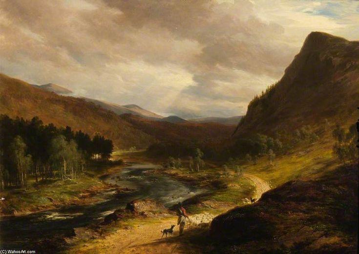Le Deeside de James William Giles (1801-1870, United Kingdom)