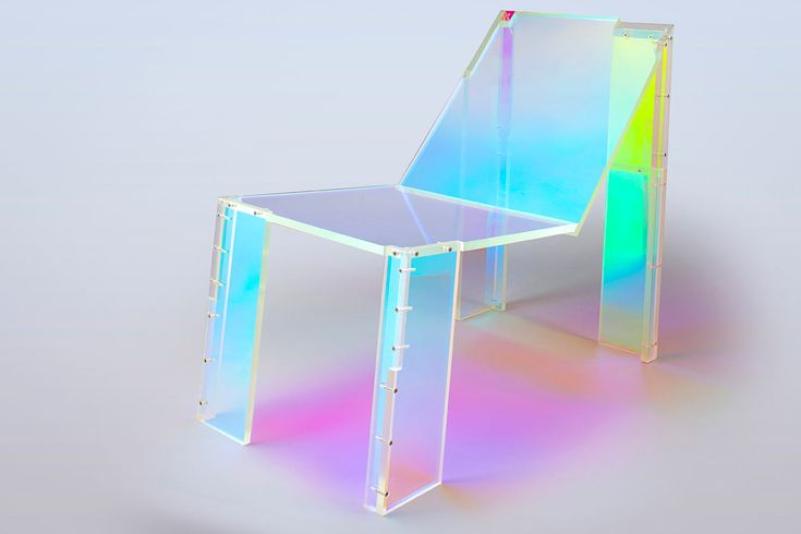 A Chair Inspired by French House Music, Like Daft Punk