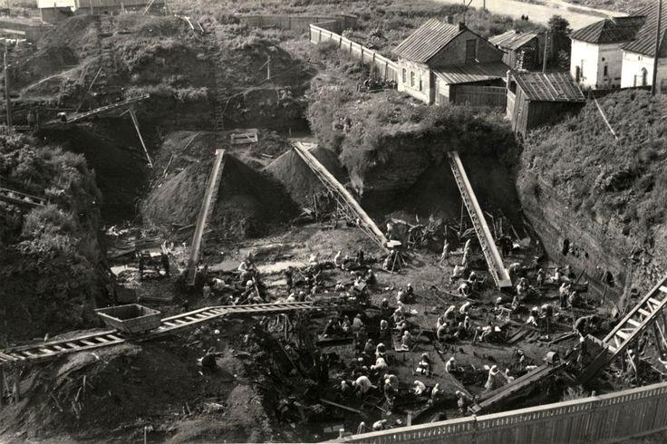 Неревский раскоп в Новгороде. Ещё несколько фотографий: starcheolog