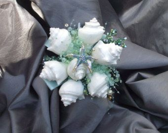 Starfish simple bouquet Affordable beach bouquet by UptownGirlzz