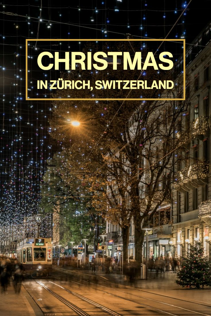 Advent And Christmas In Zurich In 2020 Zurich Christmas Tourism