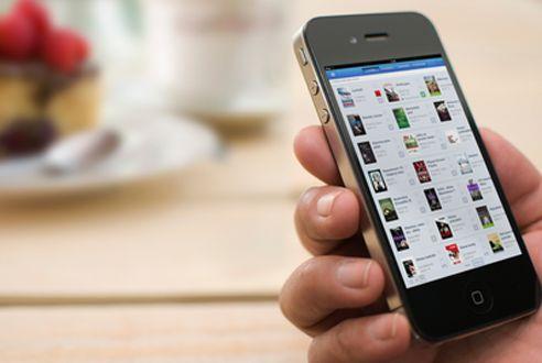 Čtení e-knih na chytrém mobilu