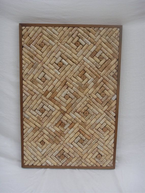 This unique cork board will surely be a beautiful addition to your home, office, or business. Display notes that need attention, organize your