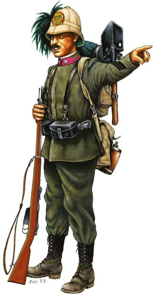 Caporalmaggiore 8° reggimento Bersaglieri guerra di Libia 1912 - pin by Paolo Marzioli
