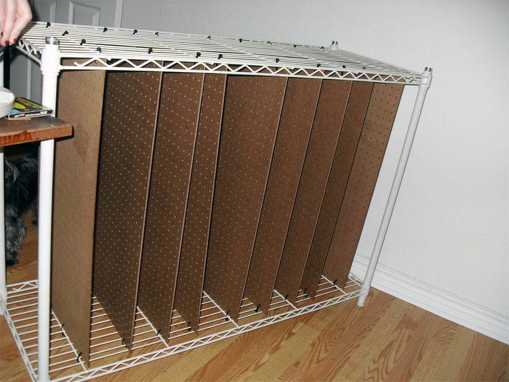 Art Painting Storage Racks