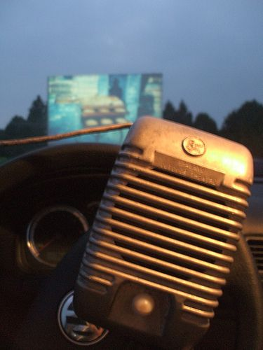 Drive In movies - Who could forget these boxes. You could never hear the movie quite right.