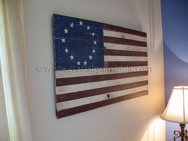 548a4b0f518 PB Inspired Rustic Colonial American Flag