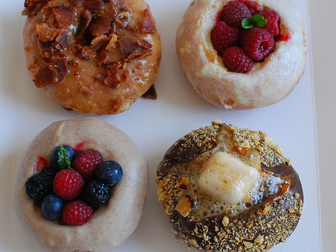 At Donut Snob in Los Angeles, appearances matter, with each treat painstakingly designed to please the senses.