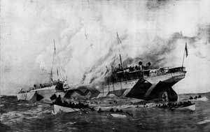 The Leinster sinking